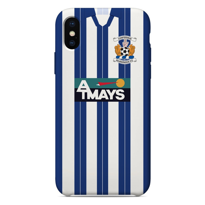 Kilmarnock F.C. 1995-1997 Home Shirt Phone Case