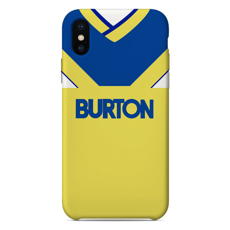 Leeds United 1986-88 Away Shirt Phone Case