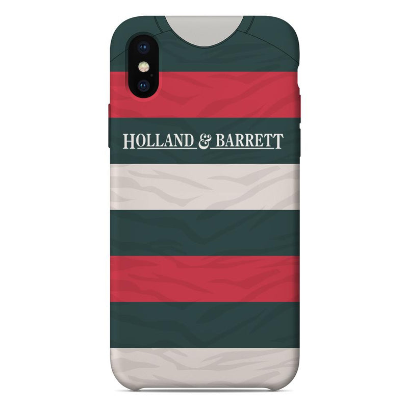Leicester Tigers 1996/97 Home Shirt Phone Case