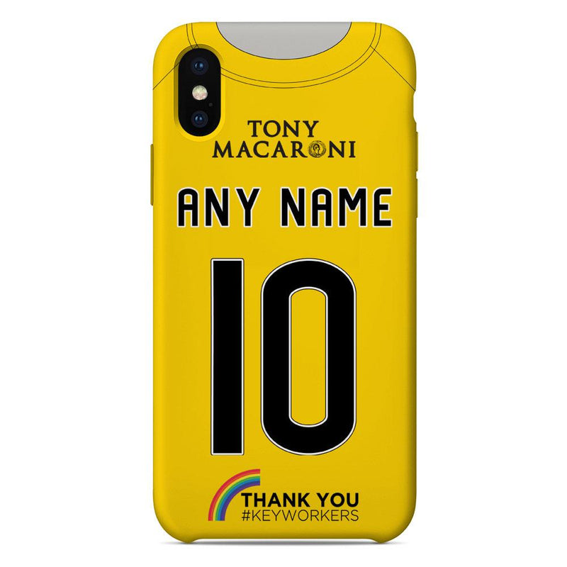 Livingston F.C. 2020/21 Home Shirt Name & Number Personalised Phone Case
