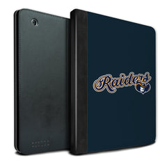 Raiders Logo Navy iPad Case