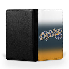 Raiders Logo Passport Case