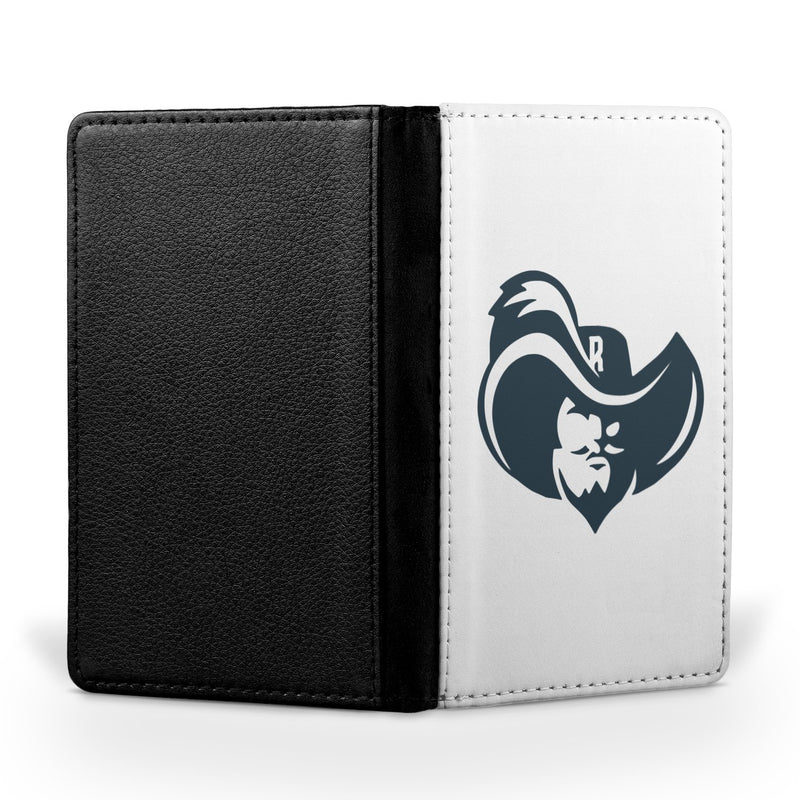 Raiders Enlarged Logo White Passport Case