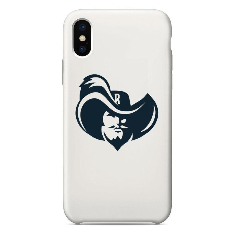 Raiders Enlarged Logo White Phone Case
