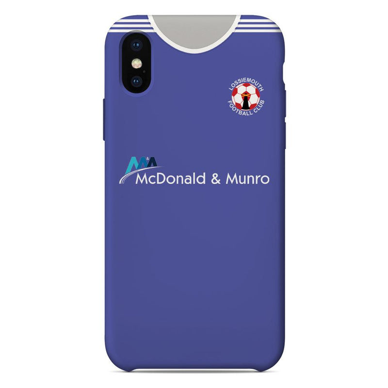 Lossiemouth 2018/19 Home Shirt Phone Case