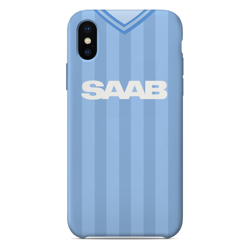 Manchester City 1983-1984 Home Shirt Phone Case