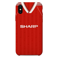 Manchester United 1988-90 Home Shirt Phone Case