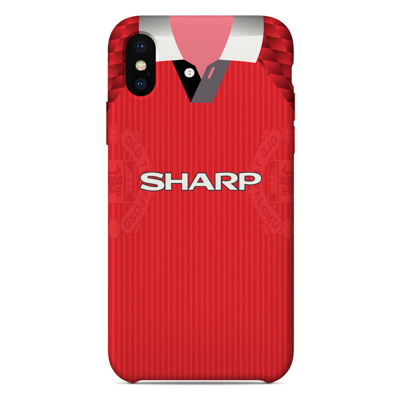 Manchester United 1996-98 Home Shirt Phone Case
