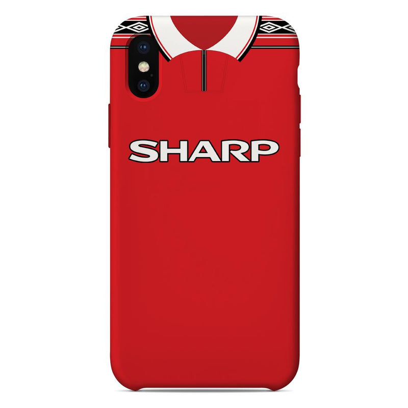 Manchester United 1998-2000 Home Shirt Phone Case