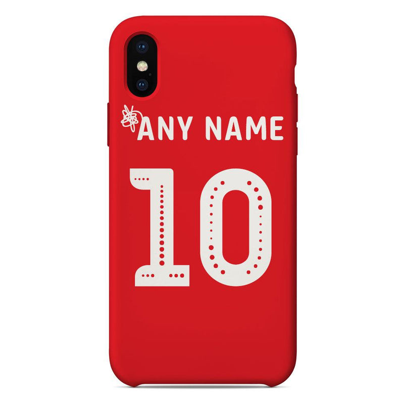 Morecambe 2019/20 Home Shirt Name & Number Personalised Phone Case