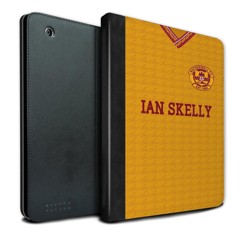 Motherwell F.C. 1990-1991 Home Shirt iPad Case