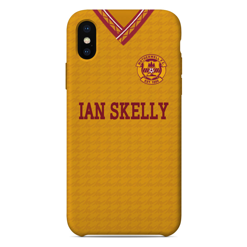 Motherwell F.C. 1990/91 Home Shirt Phone Case