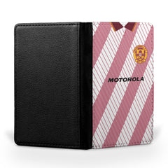 Motherwell F.C. 1992-1994 Away Shirt Passport Case