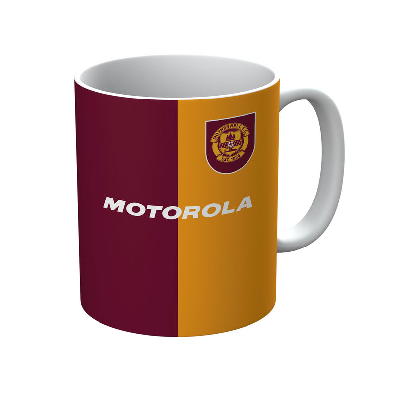 Motherwell F.C. 1996-1998 Home Shirt Mug