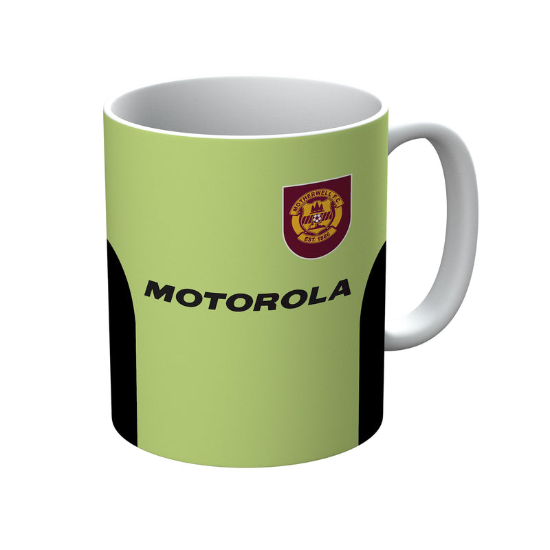 Motherwell F.C. 1997/98 Away Shirt Mug