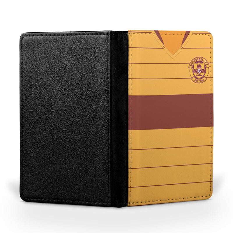 Motherwell F.C. 1990/91 Home Shirt Passport Case