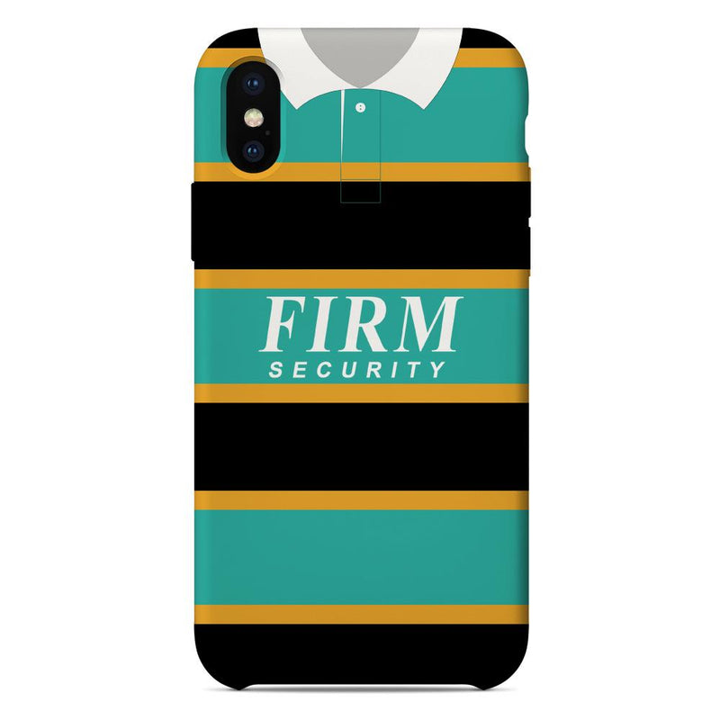 Northampton Saints 1995-1997 Home Shirt Phone Case