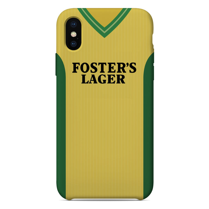 Norwich City 1987-89 Home Shirt Phone Case