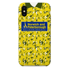Norwich City 1985/86 Home Shirt Phone Case