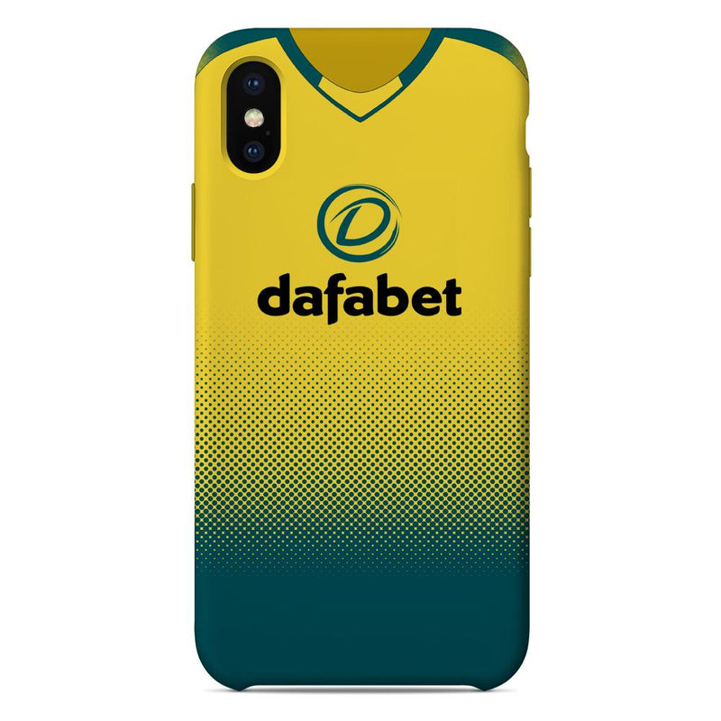 Norwich City 2019/20 Home Shirt Phone Case
