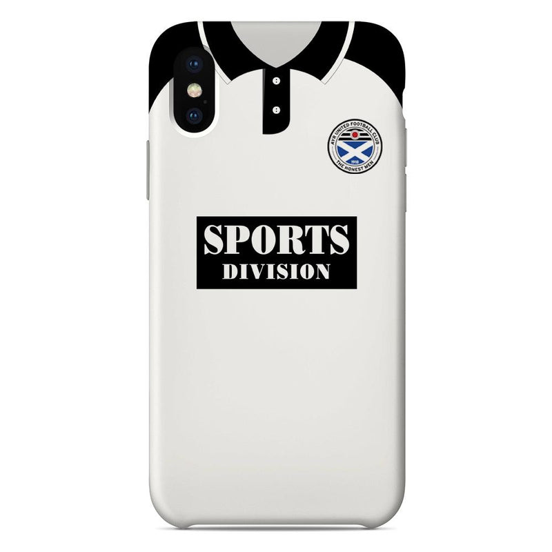 Ayr United F.C. 1973-1977 Home Shirt Phone Case