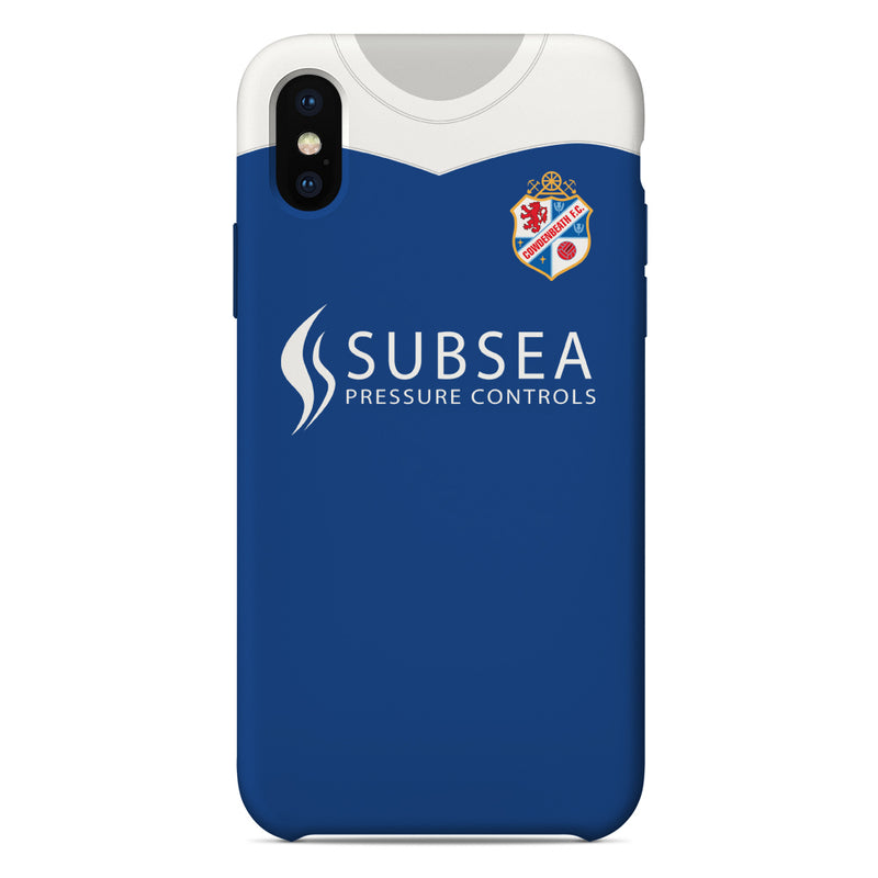 Cowdenbeath 2018/19 Home Shirt Phone Case