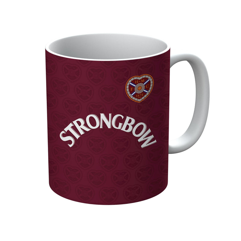 Heart of Midlothian 1985/86 Away Shirt Mug