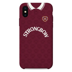 Heart of Midlothian F.C. 1992/93 Home Shirt Phone Case