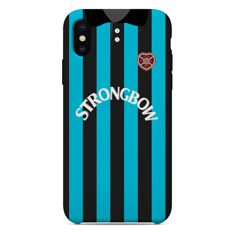 Heart of Midlothian F.C. 1977-79 Home Shirt Phone Case