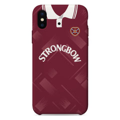 Heart of Midlothian F.C. 1993-95 Home Shirt Phone Case