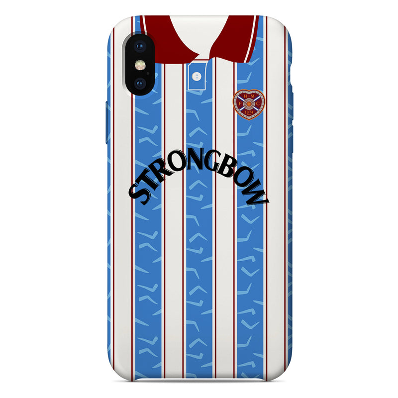 Heart of Midlothian F.C. 1995/96 Away Shirt Phone Case