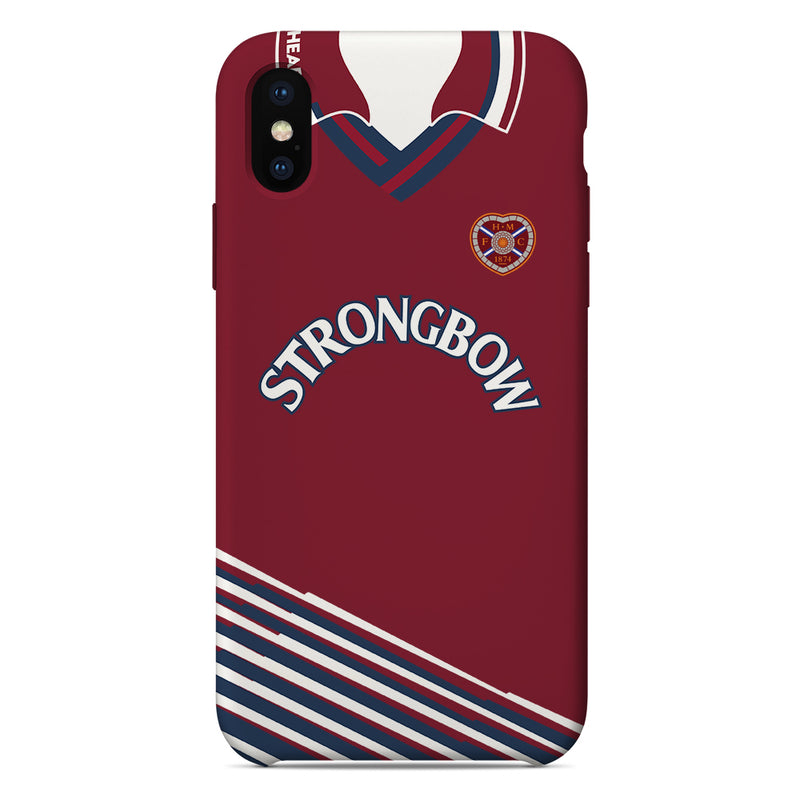 Heart of Midlothian F.C. 1998/99 Home Shirt Phone Case
