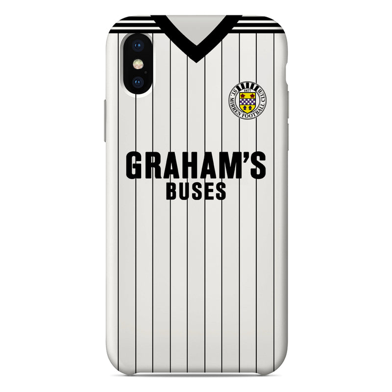 St Mirren F.C. 1984-1987 Home Shirt Phone Case
