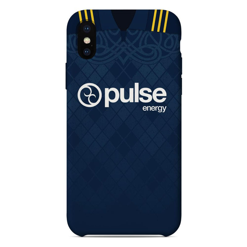 Otago Highlanders 2019 Home Shirt Phone Case
