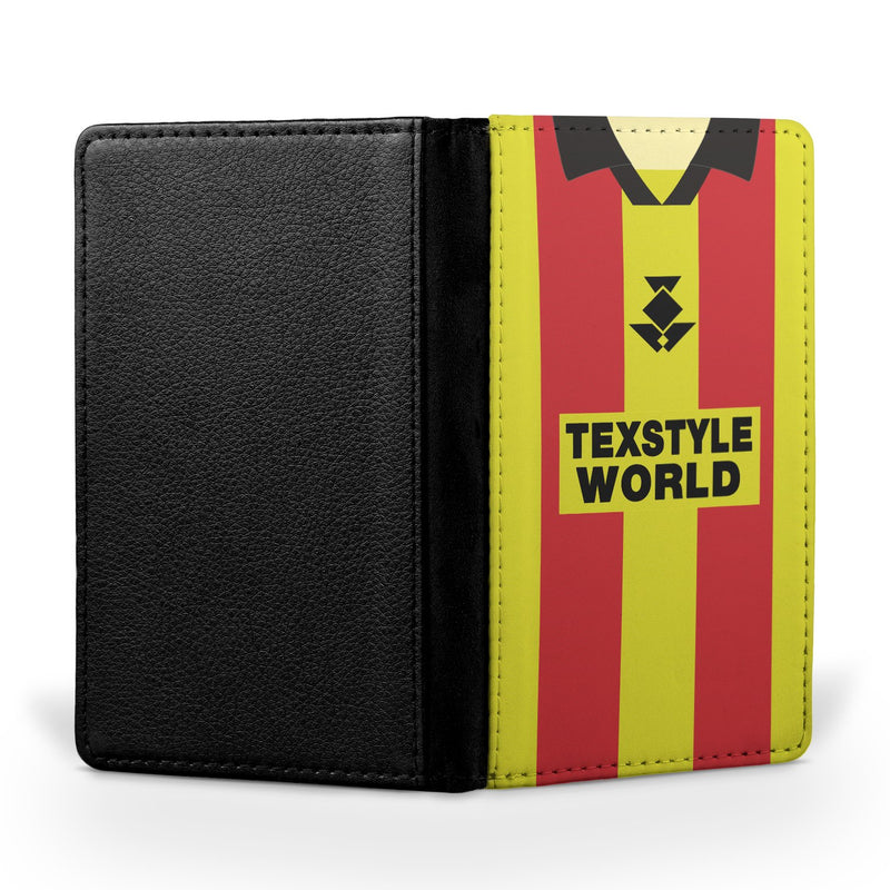 Partick Thistle 1995/96 Home Shirt Passport Case