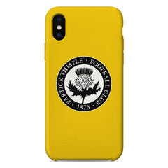 Partick Thistle F.C. Crest Yellow Phone Case