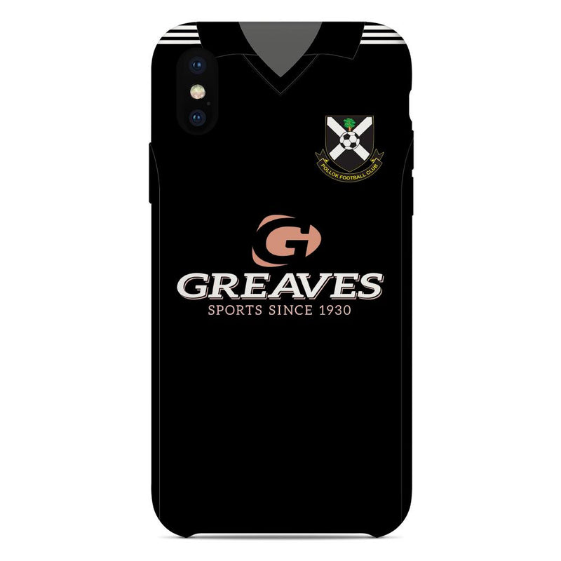 Pollok F.C. 2015/16 Away Shirt Phone Case