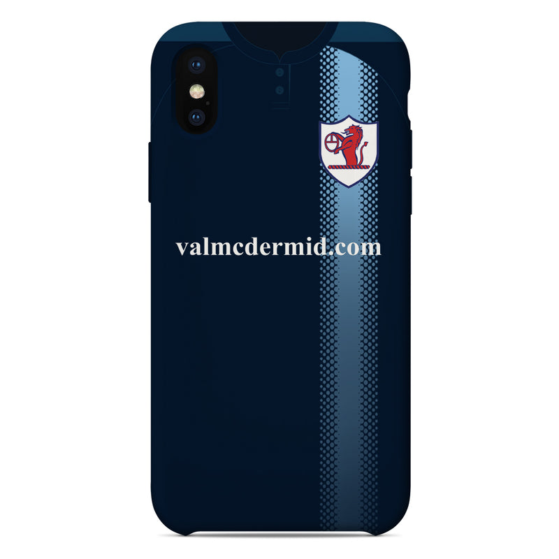 Raith Rovers F.C. 2017-2019 Home Shirt Phone Case