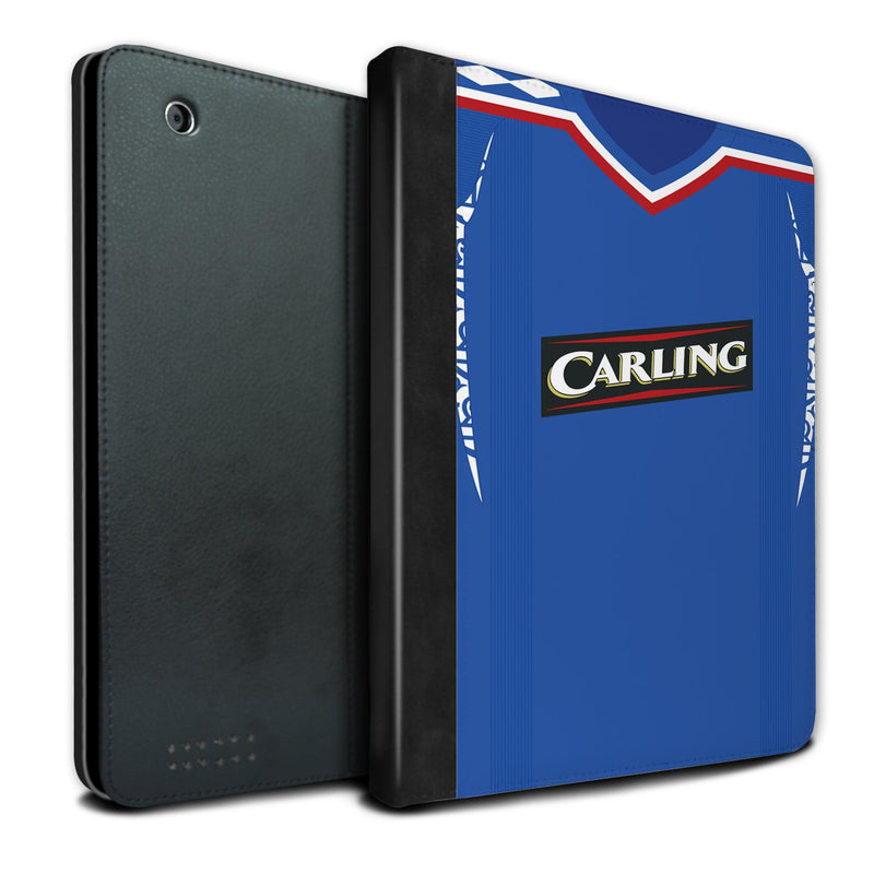 Rangers 2007-2008 Home Shirt iPad Case