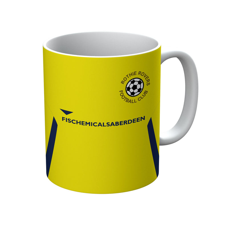 Rothie Rovers 2018/19 Home Shirt Mug