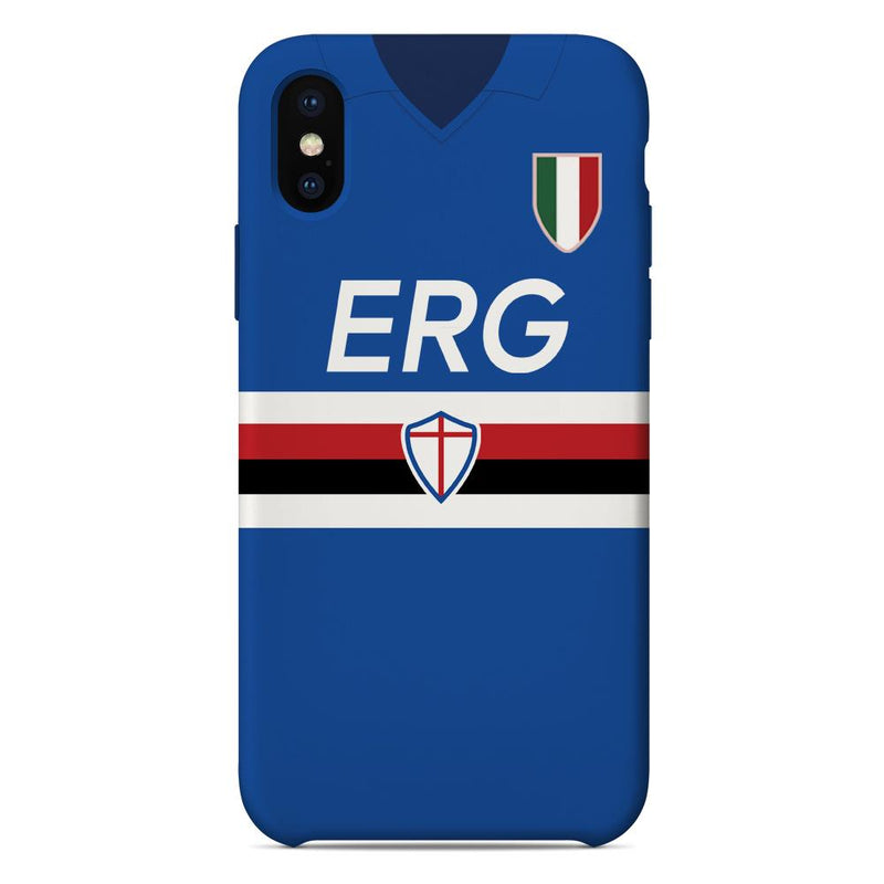 Sampdoria 1991/92 Home Shirt Phone Case