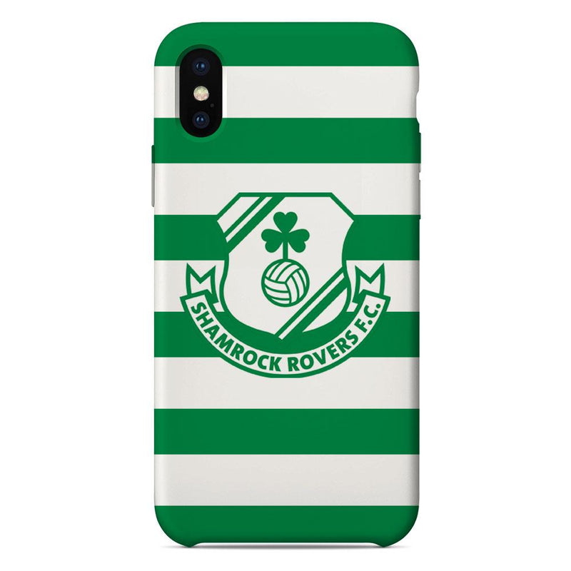 Shamrock Rovers F.C. Crest Hoops Phone Case