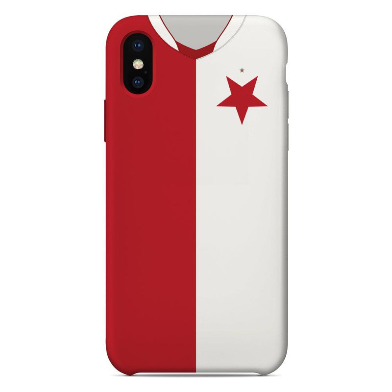 Slavia Prague 2018/19 Home Shirt Phone Case