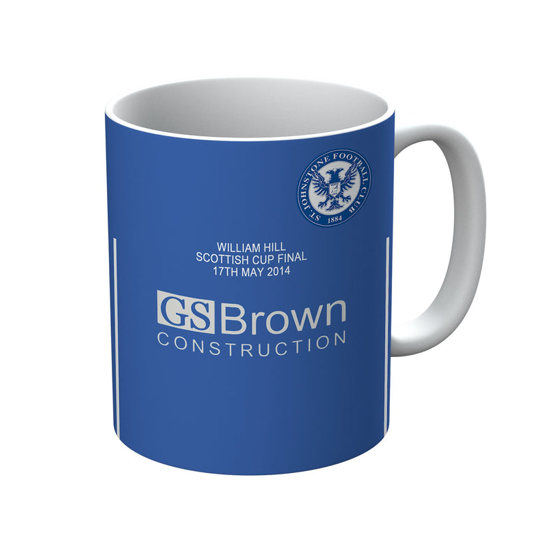 St Johnstone F.C. 1982-1986 Home Shirt Mug