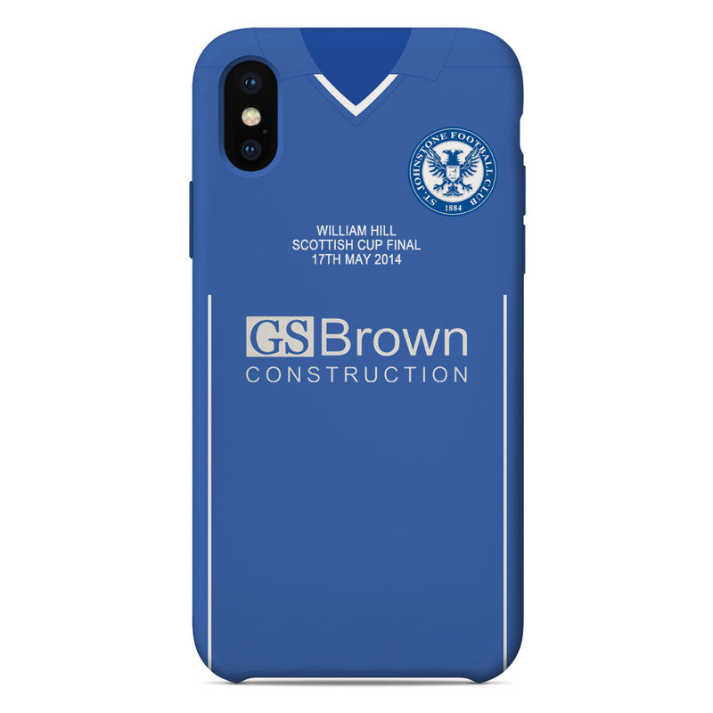 St Johnstone F.C. 2014 Scottish Cup Final Shirt Phone Case