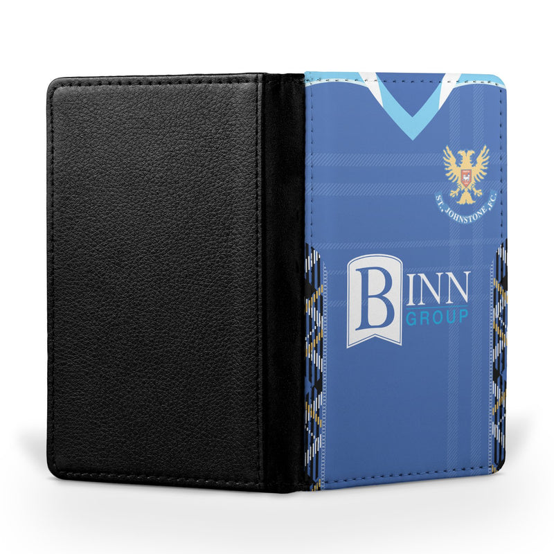 St Johnstone F.C. 2018/19 Home Shirt Passport Case