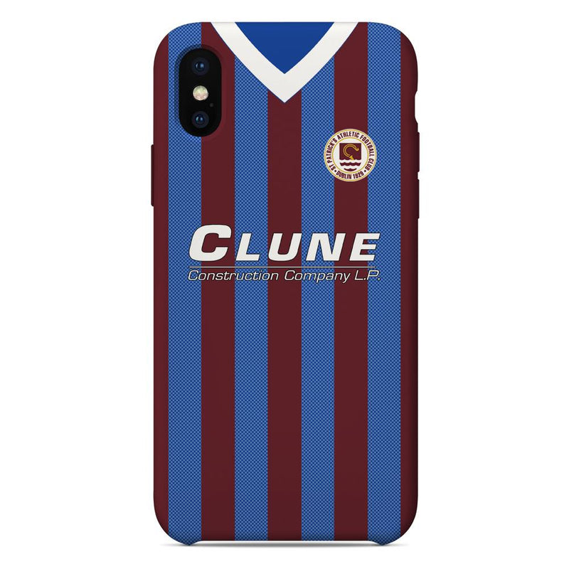 St Patrick's Athletic 1990/91 Home Shirt Phone Case