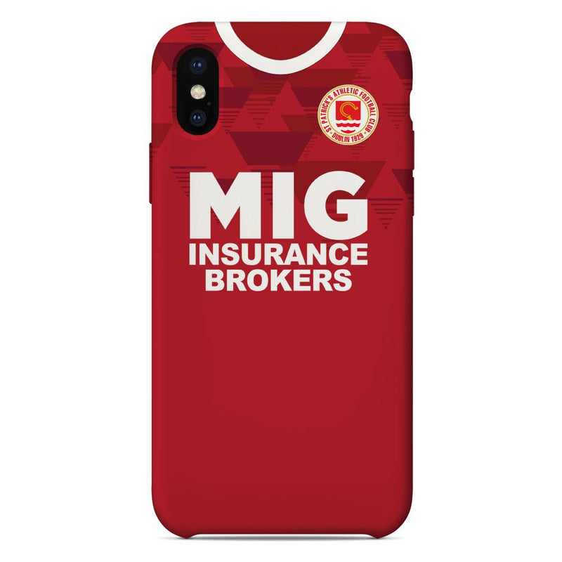St Patrick's Athletic 2020 Home Shirt Phone Case