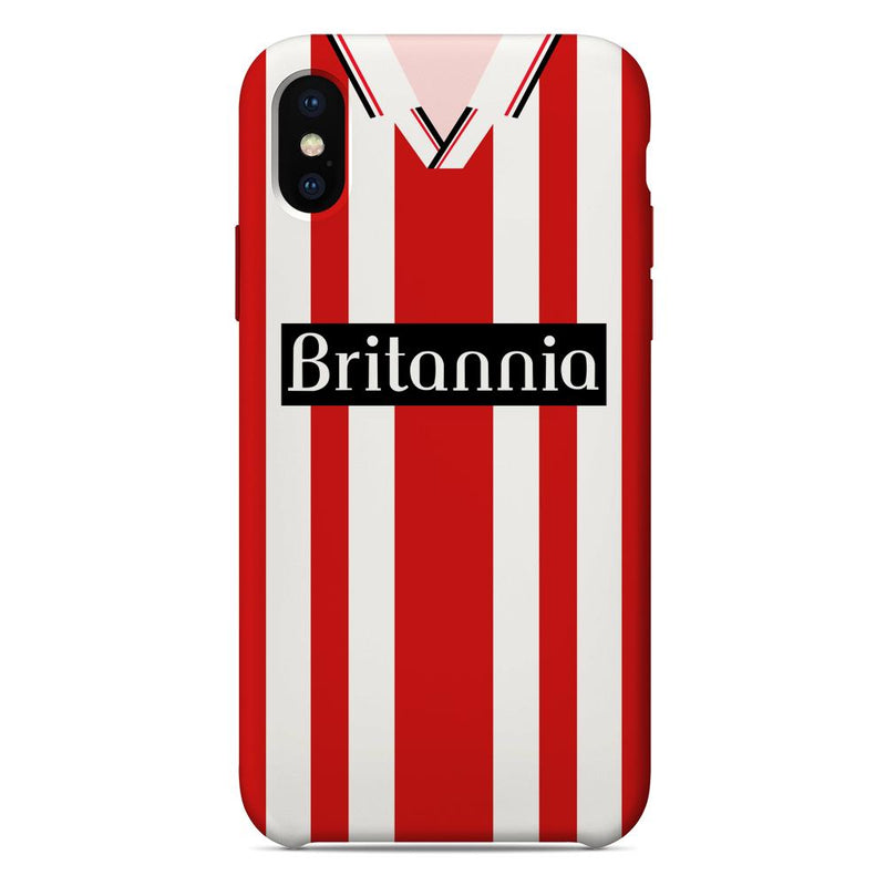 Stoke City 1997-1999 Home Shirt Phone Case