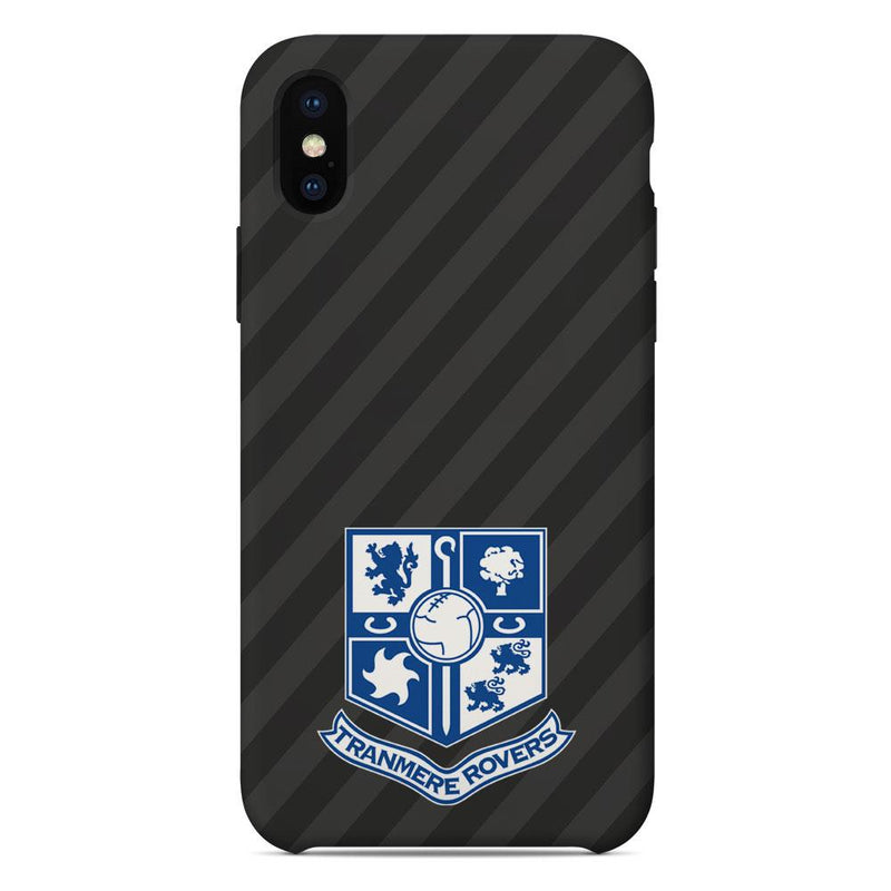 Tranmere Rovers F.C. Crest Grey Phone Case